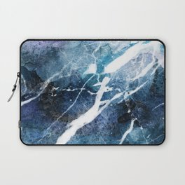 Purple abstract marble Laptop Sleeve