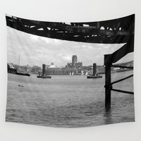 liverpool Wall Tapestries featuring Liverpool - An Alternative View by Caroline Benzies Photography