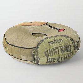 Ciotrari from Porticci (Gong) Floor Pillow