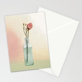 Flowers in Glass Stationery Cards