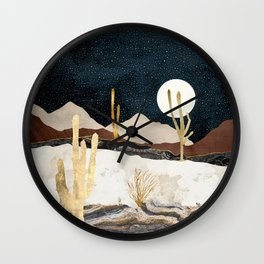 Desert View Wall Clock