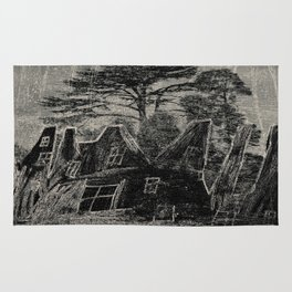 City in the forest Rug