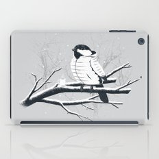 North For The Winter (Gray). iPad Case