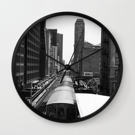 The Loop Wall Clock