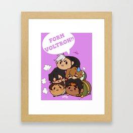 Tsum Tsum VLD Framed Art Print