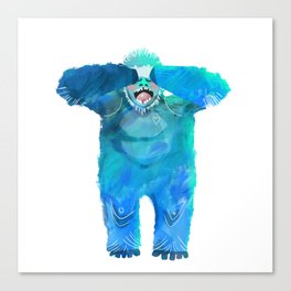 Yeti in the Morning Canvas Print