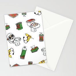 Abuela, drop the gun! Stationery Cards