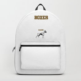 Boxer Guide Backpack