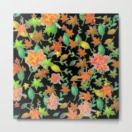 Herbstlaub colorful Metal Print
