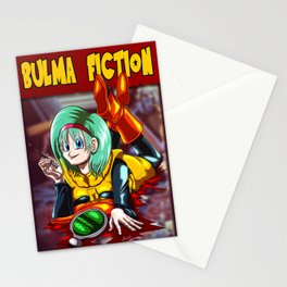 Bulma Fiction Stationery Cards