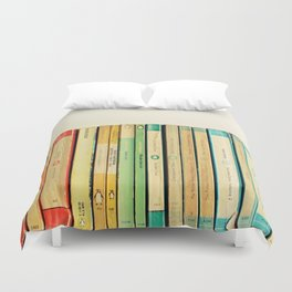Birds on Parade Duvet Cover