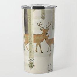 nature's way the deer Travel Mug