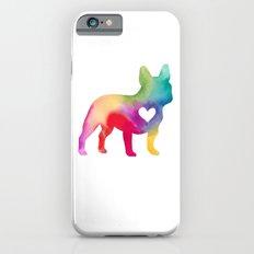 French Bulldog Love Slim Case iPhone 6
