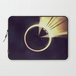 Geometric Art - Shiny Moon Laptop Sleeve