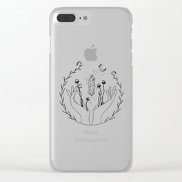 Sacred Soul Sessions Clear iPhone Case