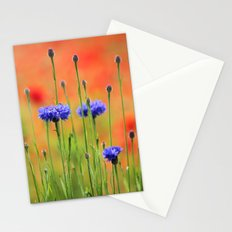 Sapphires and Rubies Stationery Cards