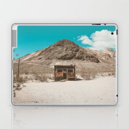 In The Middle of Nowhere | Rhyolite, Nevada Laptop & iPad Skin