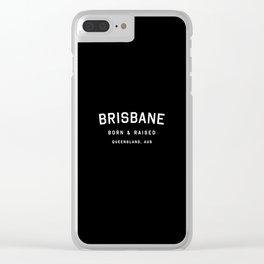 Brisbane - QLD, AUS Clear iPhone Case