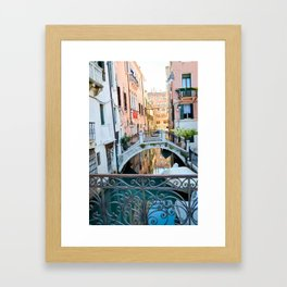 Venice Waters Framed Art Print