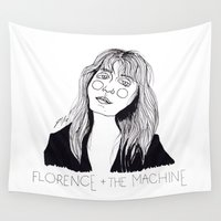 florence Wall Tapestries featuring Florence by ☿ cactei ☿