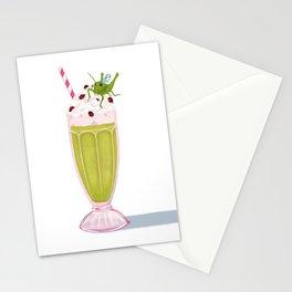 Grasshopper Milkshake Stationery Cards