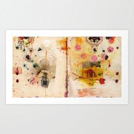 Mapping Distances Art Print