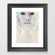 Pure. Framed Art Print