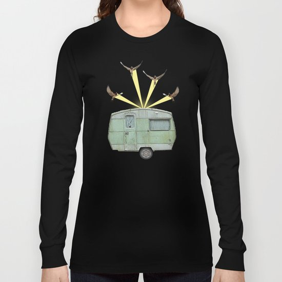 The best way to travel Long Sleeve T-shirt