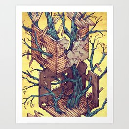 Dream Room Art Print