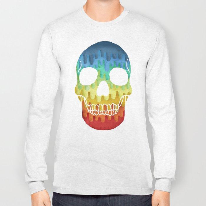 Paper Skull Long Sleeve T-shirt