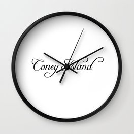 Coney Island Wall Clock