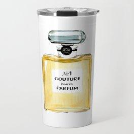 Yellow Parfum Travel Mug