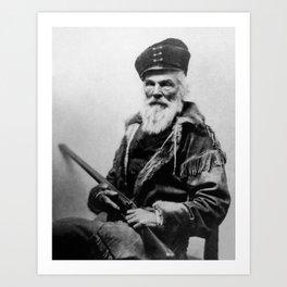 Joseph R. Walker Portrait - Circa 1862 Art Print