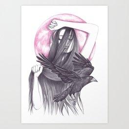Crow Dance Art Print
