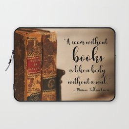 A room without books Laptop Sleeve