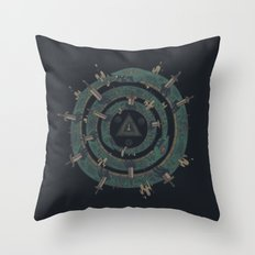 The Cycle Throw Pillow