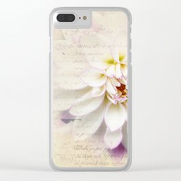 Love Letter Clear iPhone Case