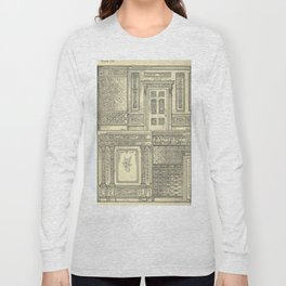 Architectural Elements Long Sleeve T-shirt