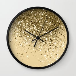 Cali Summer Vibes Lady Glitter #1 #shiny #decor #art #society6 Wall Clock