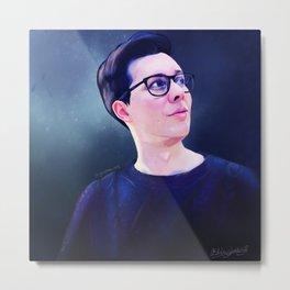 Phil Lester Sweater   Digital Painting Metal Print