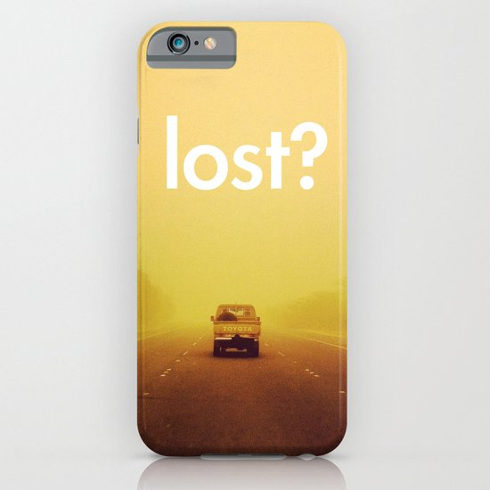lost? iPhone & iPod Case