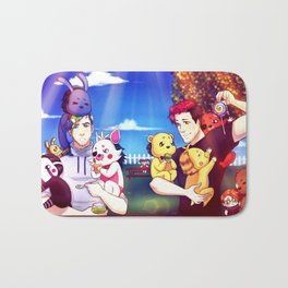The Treasure that I hold - Markiplier, Jacksepticeye and FNAF Bath Mat
