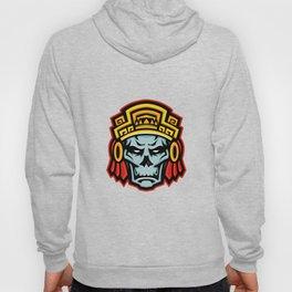 Aztec Warrior Skull Mascot Hoody