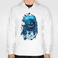 diver Hoodies featuring SMILING DIVER by ADAMLAWLESS