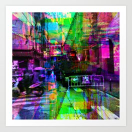 When options are limited are they not obligations? [RGB] Art Print