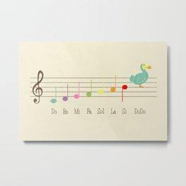 Music Lesson Metal Print