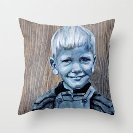 Charly Driftwood Throw Pillow