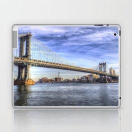 Manhattan Bridge New York Laptop & iPad Skin