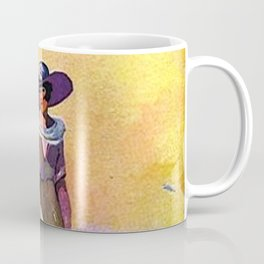 Lady by the Sea Coffee Mug