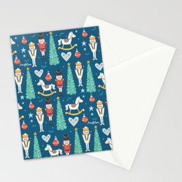 Nutcrackers under the Christmas Tree Stationery Cards
